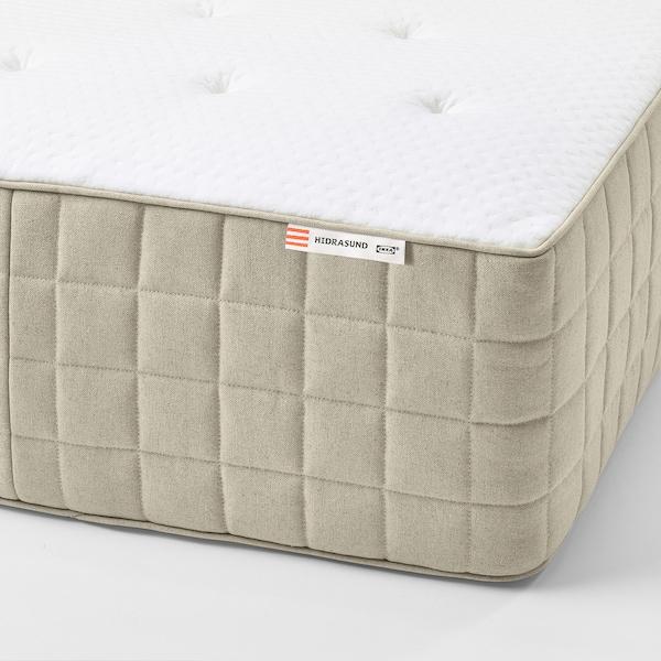 HIDRASUND Pocket spring mattress, firm/natural, King