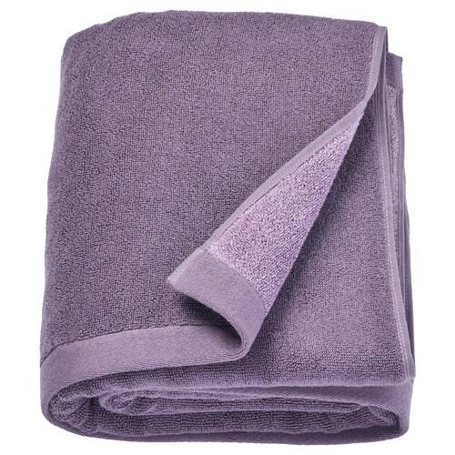 """HIMLEÅN bath sheet lilac/marled 1.64 oz/sq ft 59 """" 39 """" 16.15 sq feet"""
