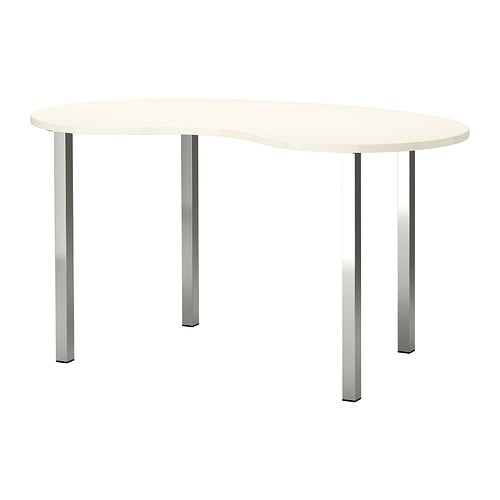 HISSMON / SJUNNE Table   Also works well as a dining table, as the table top is moisture resistant and easy to clean.