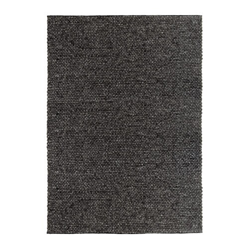 Hjorthede rug ikea for Grey rug ikea