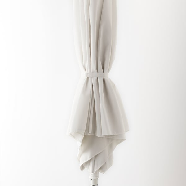 "HÖGÖN Patio umbrella, white, 106 1/4 """