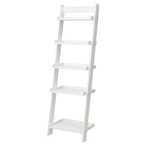 "HOGHEM wall shelf white 22 1/2 "" 16 1/2 "" 73 5/8 """