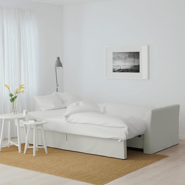 holmsund sofabed  orrsta light whitegray  ikea