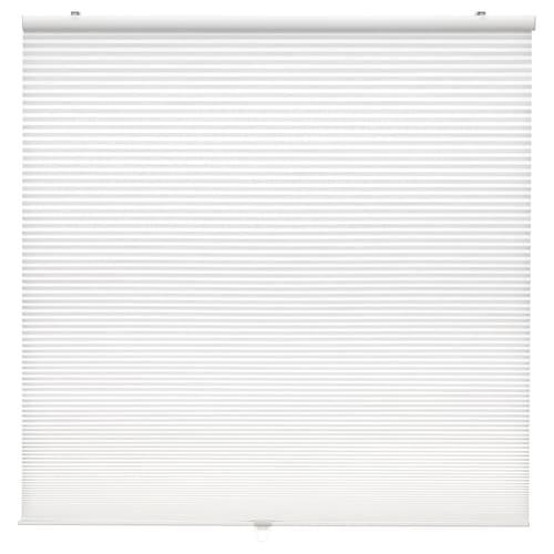 """HOPPVALS cellular blind white 64 """" 48 """" 21.42 sq feet"""