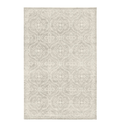 """HOPTRUP Rug, low pile, gray, 6 ' 7 """"x9 ' 10 """""""