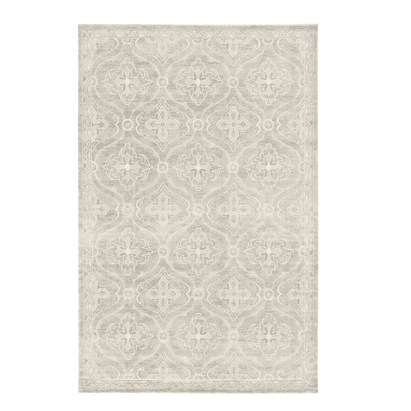Hoptrup Rug Low Pile Gray Ikea