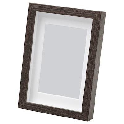 "HOVSTA frame dark brown 4 "" 6 "" 3 ¼ "" 4 ¾ "" 2 ¾ "" 4 ¼ "" 4 ¾ "" 6 ¾ """