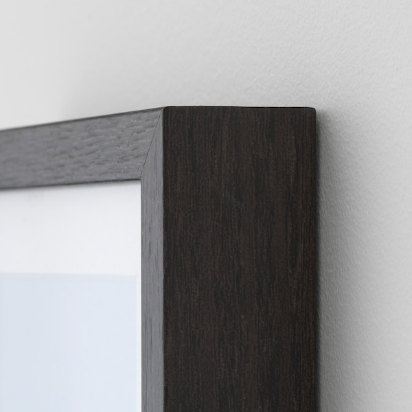 "HOVSTA Frame, dark brown, 9x9 """
