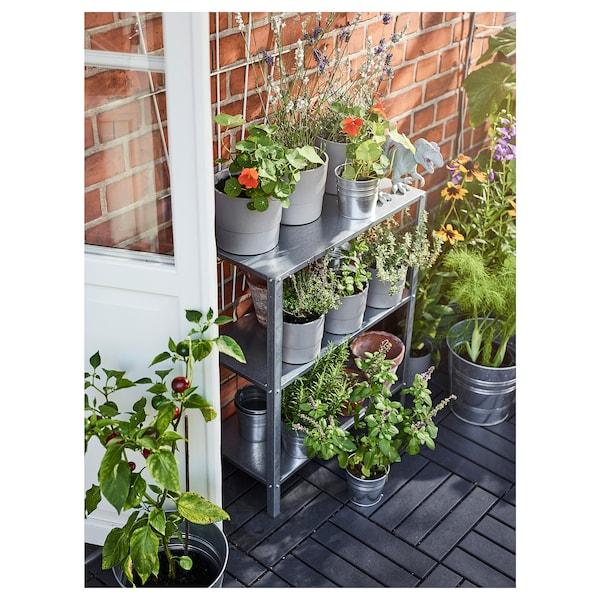 """HYLLIS Shelf unit, indoor/outdoor, 23 5/8x10 5/8x29 1/8 """""""