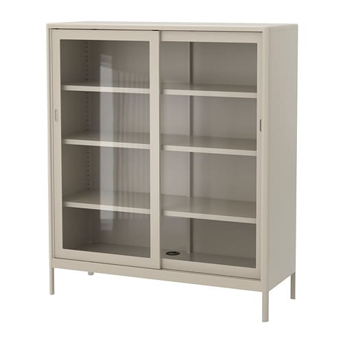 Id 197 Sen Cabinet With Sliding Glass Doors Ikea
