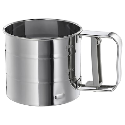 IDEALISK Flour sifter, stainless steel