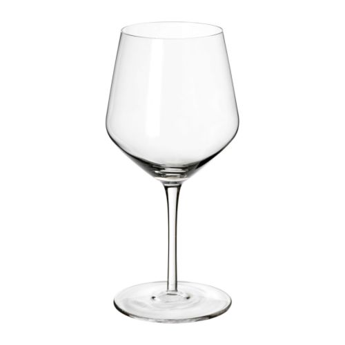 IKEA 365+ IVRIG Red wine glass   The glass is mouth blown, which makes each piece unique.