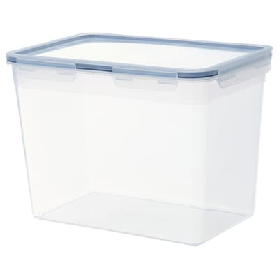 IKEA 365+ Food container with lid, rectangular/plastic, 358 oz