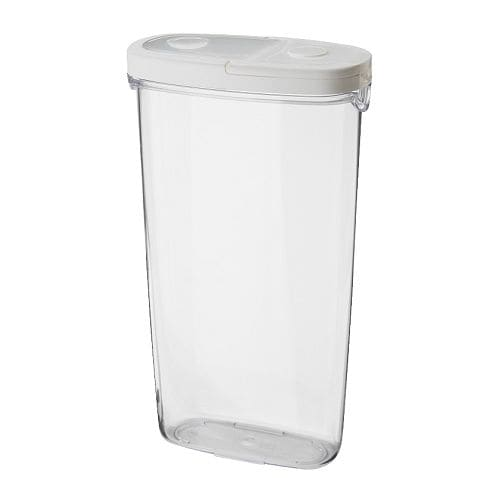 IKEA 365+ Dry food jar with lid   BPA free.