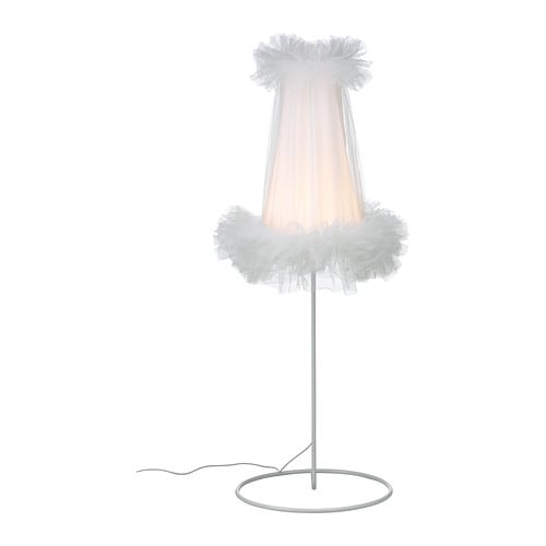 IKEA PS 2012 LED floor lamp   Uses LEDs, which consumes up to 80% less energy and last 20 times longer than incandescent bulbs.