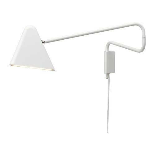 IKEA PS 2012 LED wall lamp   Uses LEDs, which consumes up to 80% less energy and last 20 times longer than incandescent bulbs.