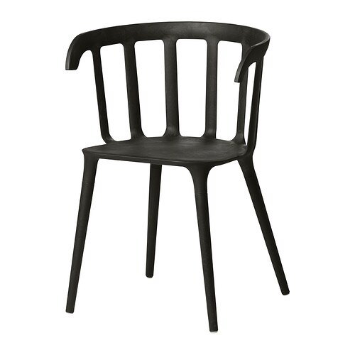 IKEA PS 2012 Armchair   You sit comfortably thanks to the armrests.  You sit comfortably thanks to the shaped back.