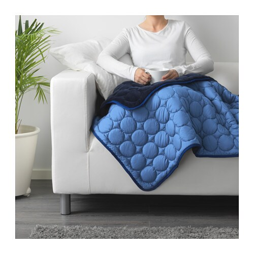 IKEA PS 2017 Blanket   Can be used as bedspread for a single bed or as a large blanket.