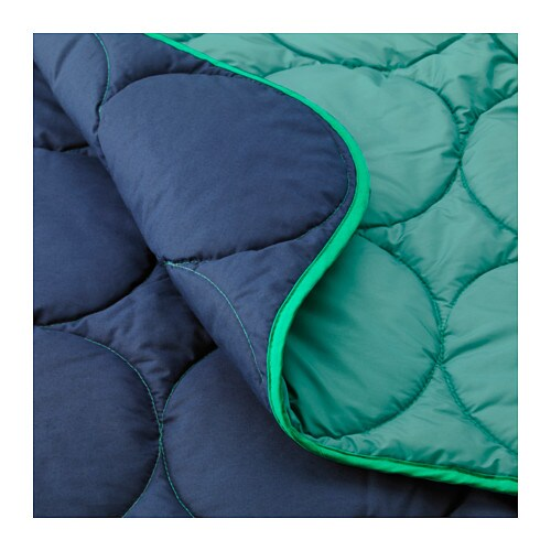 IKEA PS 2017 Sleeping bag   Two sleeping bags can be attached together with the zippers to form a double sleeping bag.