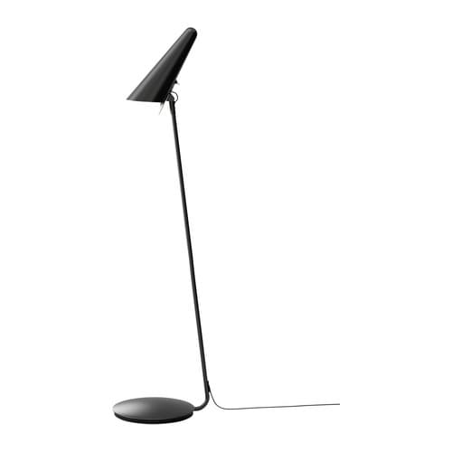 ikea stockholm led floor read lamp black ikea With ikea stockholm floor reading lamp