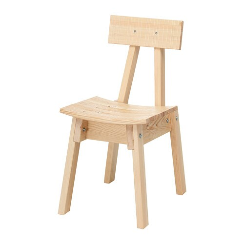 INDUSTRIELL. Chair pine  sc 1 st  Ikea & INDUSTRIELL Chair - pine - IKEA