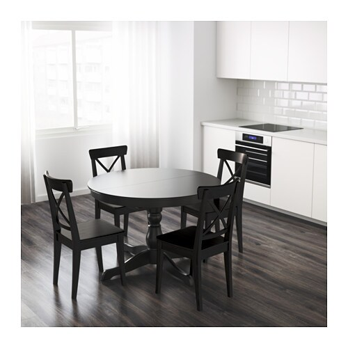 ingatorp extendable table ikea. Black Bedroom Furniture Sets. Home Design Ideas