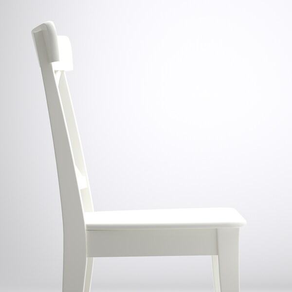 """INGOLF chair white 243 lb 16 7/8 """" 20 1/2 """" 35 7/8 """" 16 7/8 """" 15 """" 17 3/4 """""""