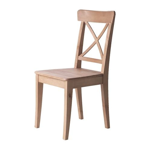 INGOLF Chair   Solid wood, a hardwearing natural material.