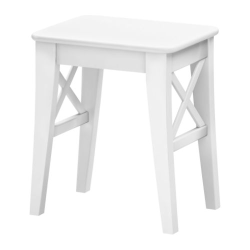 INGOLF Stool   Solid wood is a durable natural material.