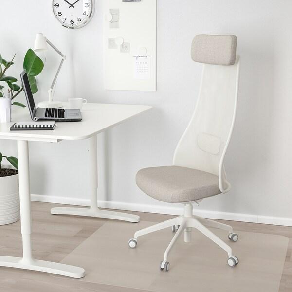 """JÄRVFJÄLLET office chair Gunnared beige 243 lb 26 3/4 """" 26 3/4 """" 55 1/8 """" 20 1/2 """" 18 1/8 """" 17 3/4 """" 22 """""""