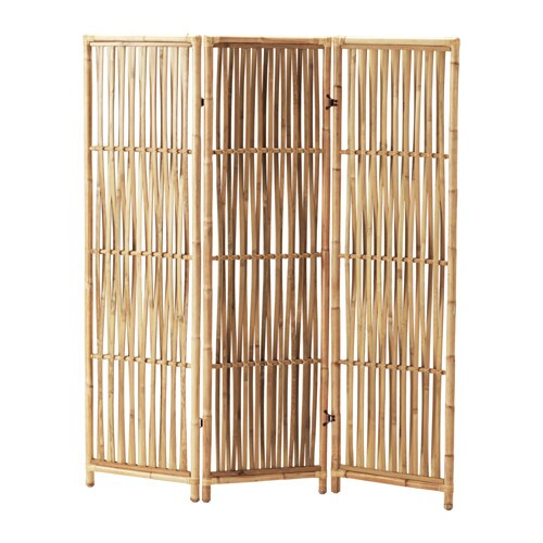 jassa room divider treated with clear varnish which gives natural