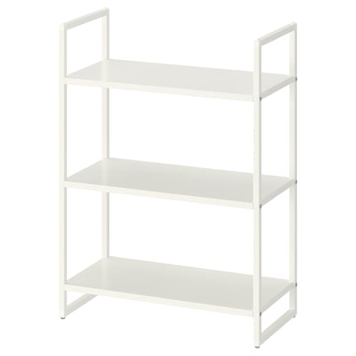 "JONAXEL shelf unit white 9 7/8 "" 20 1/8 "" 27 1/2 "" 22 lb"