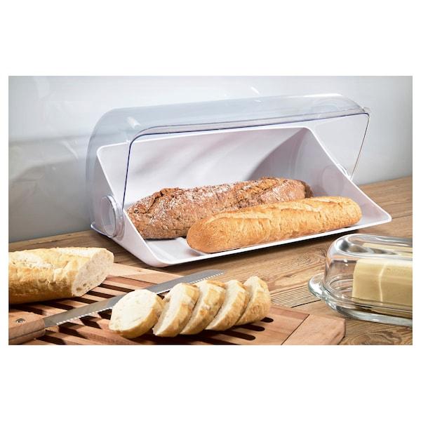 JULGODIS Bread bin, white