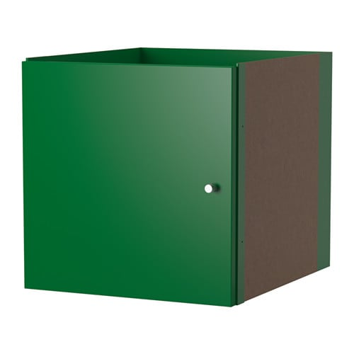 kallax insert with door green ikea. Black Bedroom Furniture Sets. Home Design Ideas