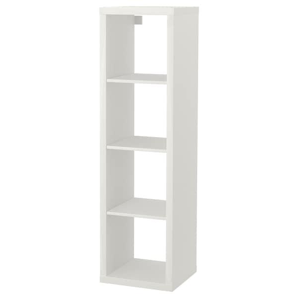 """KALLAX Shelf unit, white, 16 1/2x57 7/8 """""""