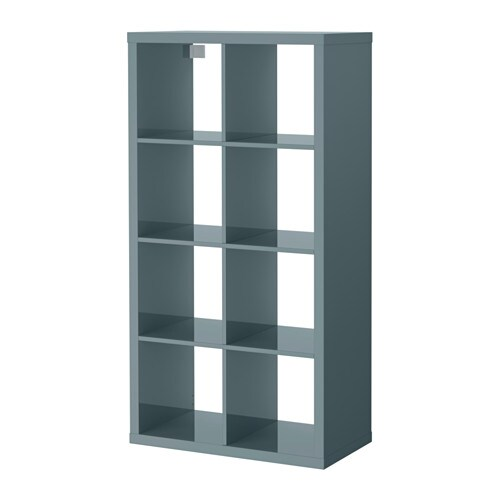 - KALLAX Shelf Unit - Black-brown - IKEA