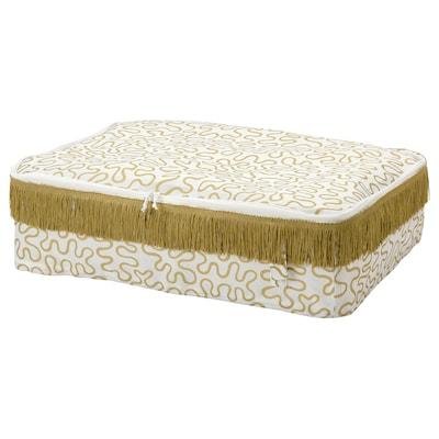 "KARISMATISK Storage case, gold-colour, 27x20x7 """