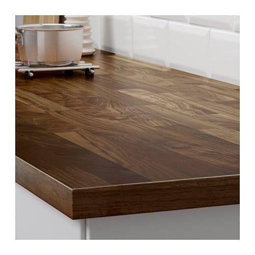 Kitchen Island Countertop karlby countertop for kitchen island - walnut - ikea