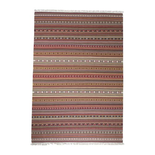 KATTRUP Rug, flatwoven   The rug is hand-woven by skilled craftspeople and adds a personal touch to your room.