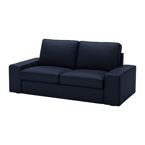 KIVIK Loveseat cover   The cover is easy to keep clean as it is removable and can be machine washed.