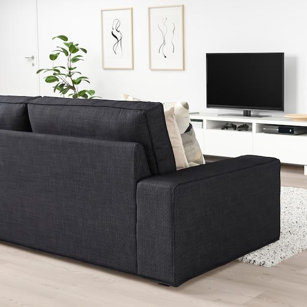 KIVIK Sofa, Hillared anthracite
