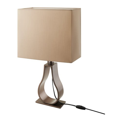 Klabb table lamp ikea for Lampes a poser ikea
