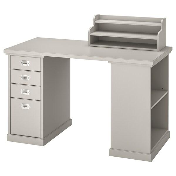 "KLIMPEN Table, light gray, 47 1/4x23 5/8 """
