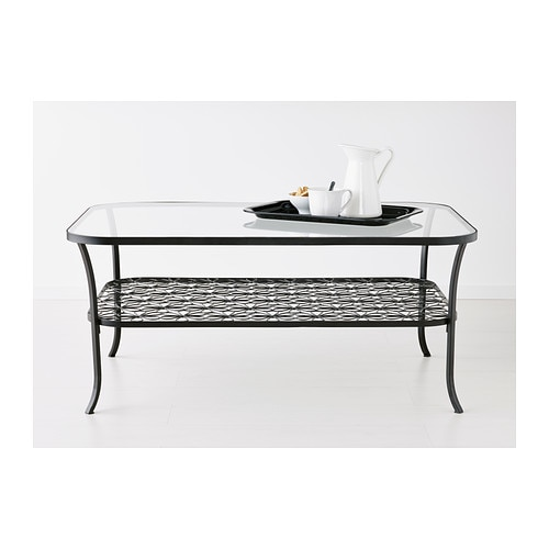 KLINGSBO Coffee table   Separate shelf for magazines, etc.   helps you keep your things organized and the table top clear.