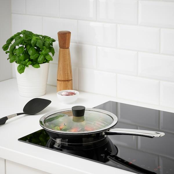 """KLOCKREN Lid for pan, glass, 9 ¾ """""""