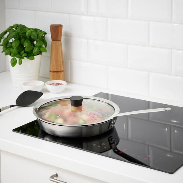 """KLOCKREN Lid for pan, glass, 11 ½ """""""