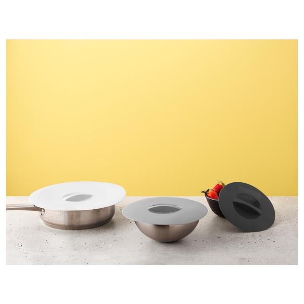 KLOCKREN lid, set of 3 multi-functional