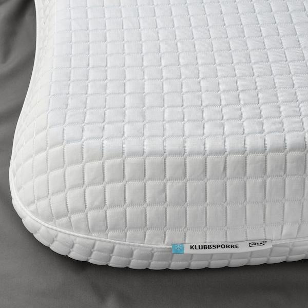 IKEA KLUBBSPORRE Ergonomic pillow, multi position