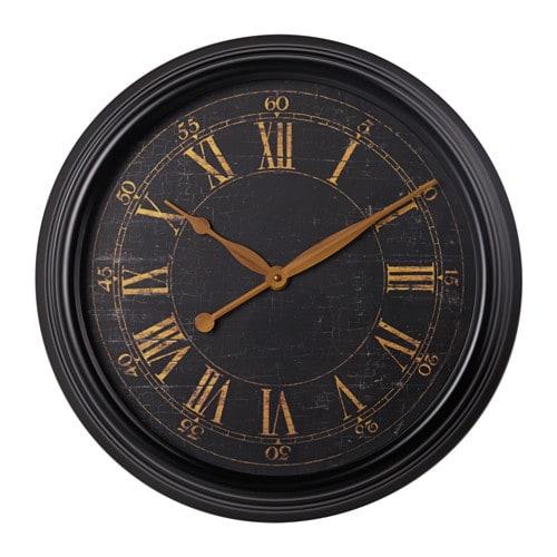 Couronne De Noel A Faire Soi Meme En Bois : KLYSA Wall clock  IKEA