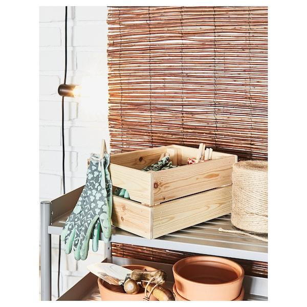 "KNAGGLIG Box, pine, 18x12 ¼x9 ¾ """